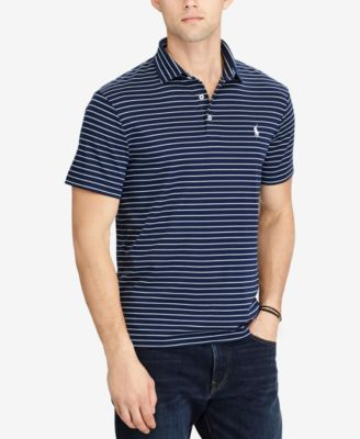 Polo Ralph Lauren Men/'s Classic Fit Striped Soft Touch Polo Shirt