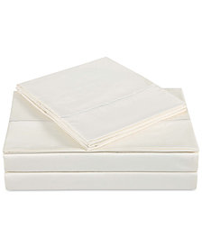 Charisma Classic Cotton Sateen 310 Thread Count 4-Pc. Solid California King Sheet Set