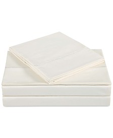 Charisma Classic Cotton Sateen 310 Thread Count 3-Pc. Solid Twin Sheet Set
