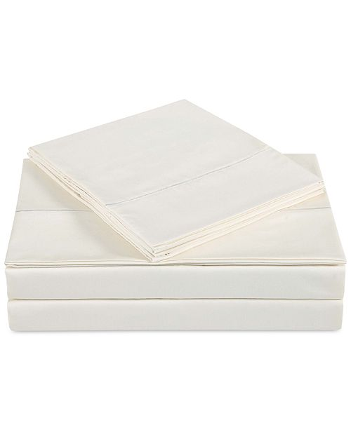 Charisma CLOSEOUT! Classic Cotton Sateen 310 Thread Count 3-Pc. Solid Twin Sheet Set