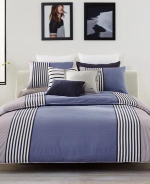 Lacoste Meribel Colorblocked King Comforter Set Bedding