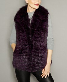 The Fur Vault Fox Fur Vest