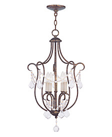Livex Chesterfield Chandelier Light