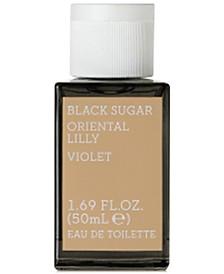 KORRES Black Sugar Oriental Lilly Violet Eau de Toilette, 1.7-oz.