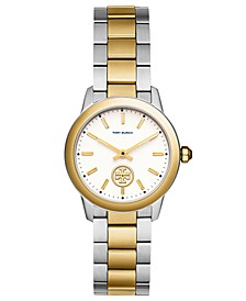 Women's Collins Two-Tone Stainless Steel Bracelet Watch 32mm