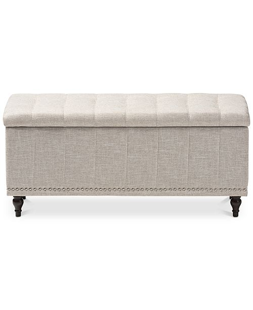 Awe Inspiring Kaylee Button Tufted Storage Ottoman Bench Quick Ship Gmtry Best Dining Table And Chair Ideas Images Gmtryco