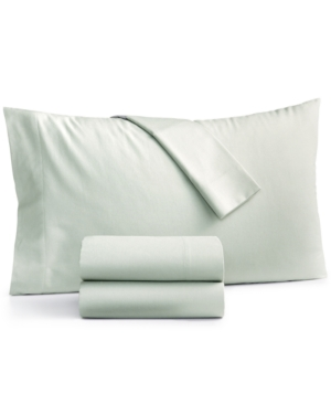 Martha Stewart Collection Solid 100 Cotton Full Flannel Sheet Set Created for Macys