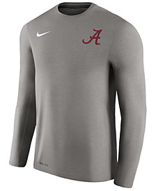 Nike Men's Alabama Crimson Tide Dri-Fit Touch Longsleeve T-Shirt
