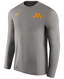 Nike Men's Minnesota Golden Gophers Dri-Fit Touch Longsleeve T-Shirt