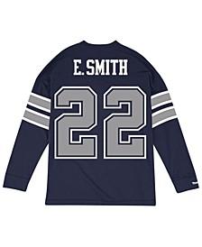 Men's Emmitt Smith Dallas Cowboys Retro Player Name & Numer Longsleeve T-Shirt