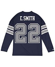 Mitchell & Ness Men's Emmitt Smith Dallas Cowboys Retro Player Name & Numer Longsleeve T-Shirt