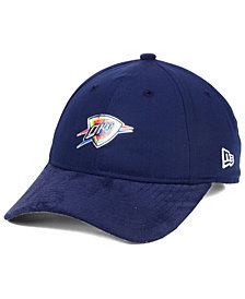 New Era Oklahoma City Thunder On-Court Collection Draft 9TWENTY Cap