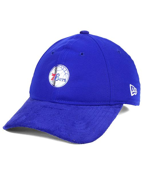 New Era Philadelphia 76ers On-Court Collection Draft 9TWENTY Cap