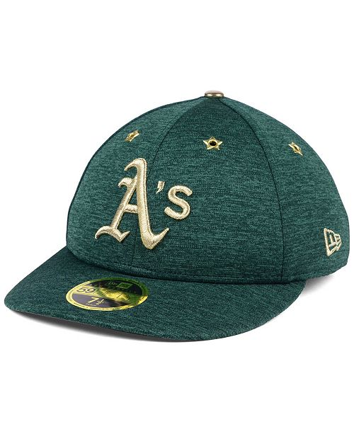 705187effe892 Oakland Athletics 2017 All Star Game Patch Low Profile 59FIFTY Fitted Cap