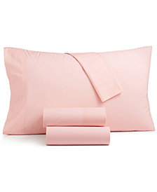 CLOSEOUT! Charter Club Sleep Soft 4-Pc Full Sheet Set, 300-Thread Count 100% Cotton, Created for Macy's