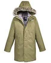 The North Face Arctic Swirl Hooded Jacket with Faux-Fur Trim, Little Girls & Big Girls