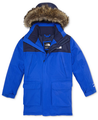 The North Face Mcmurdo Hooded Parka with Faux-Fur Trim, Little ...