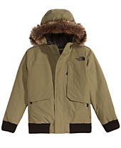 The North Face Gotham Hooded Down Jacket with Faux-Fur Trim, Little Boys & Big Boys