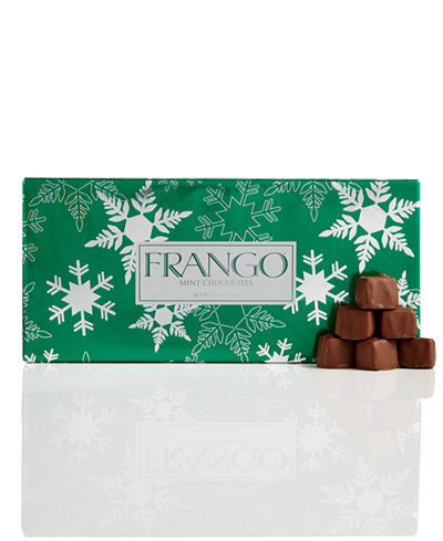 Frango Chocolates 45 Pc Holiday Wrapped Milk Mint Box Of
