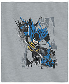"""Warner Brothers Batman 50"""" x 60"""" Sweatshirt Throw"""