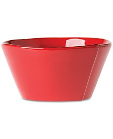 Vietri Lastra Red Collection Cereal Bowl