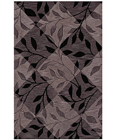 "Dalyn Area Rug, Studio SD21 Black 3' 6"" x 5' 6"""