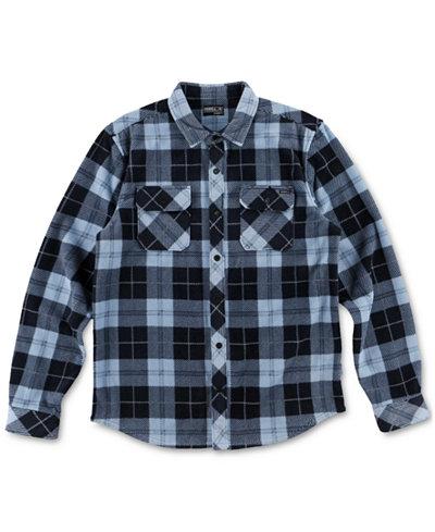 O'Neill Men's Glacier Plaid Shirt - Casual Button-Down Shirts ...