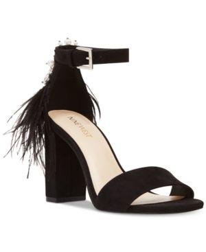 Nine West Aaronita Feather Dress Sandals Women