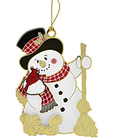 chemart jolly snowman ornament