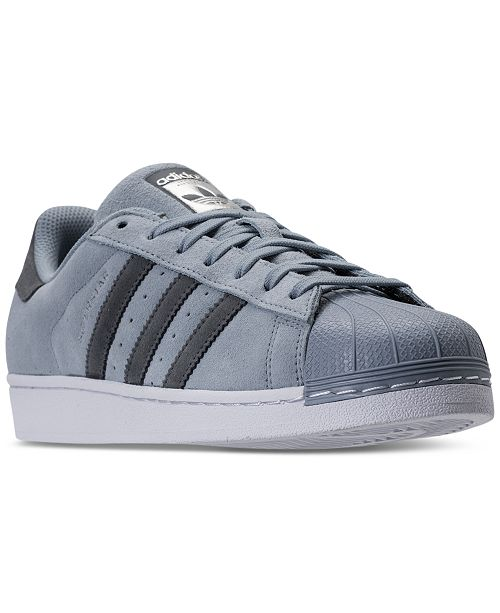 aad91b309 adidas Men s Superstar Casual Sneakers from Finish Line   Reviews ...