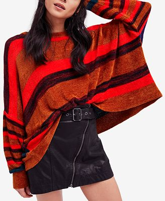 Free People All About You Striped Sweater - Sweaters - Women - Macy's