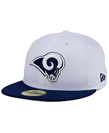 New Era Los Angeles Rams 2 Tone 59FIFTY Fitted Cap