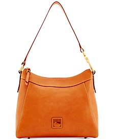 Florentine Cassidy Small Leather Hobo