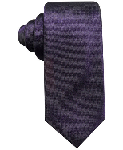 Alfani Men's Panel Silk Slim Tie, Created for Macy's