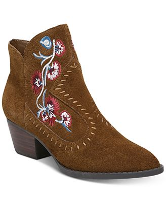 Carlos by Carlos Santana Vivian Embroidered Western Shoes