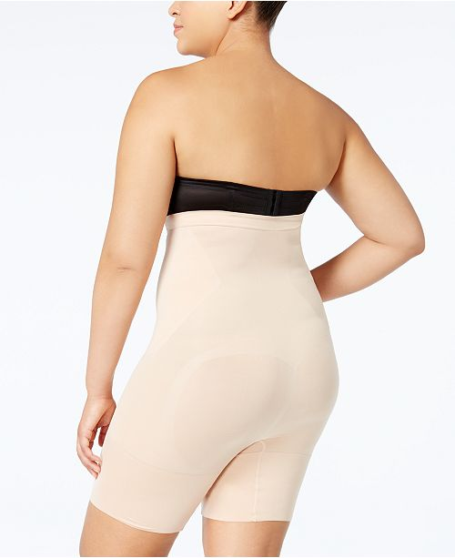 74ebc78055c SPANX Women s Plus Size OnCore High-Waisted Mid-Thigh Short PS1915 ...