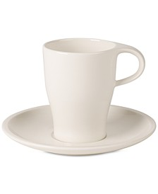 Coffee Passion Collection Coffee Mug & Saucer Set