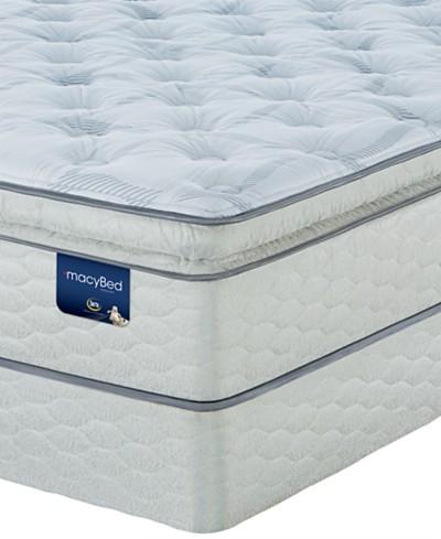 MacyBed Lakemere Super Pillowtop Firm Mattress Set - King