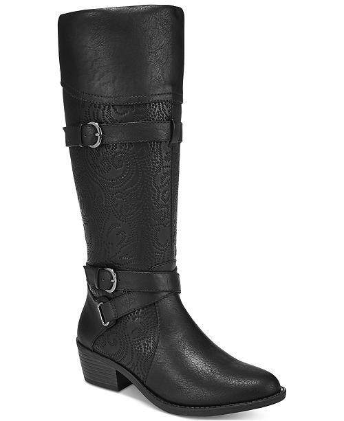 Easy Street Kelsa Wide-Calf Riding Boots