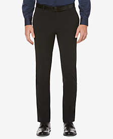 Perry Ellis Men's Slim-Fit Machine Washable Dress Pants