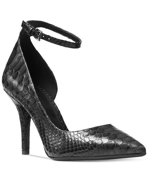 beddcbbdd Michael Kors Abbi Flex Ankle-Strap Pumps & Reviews - Pumps ...