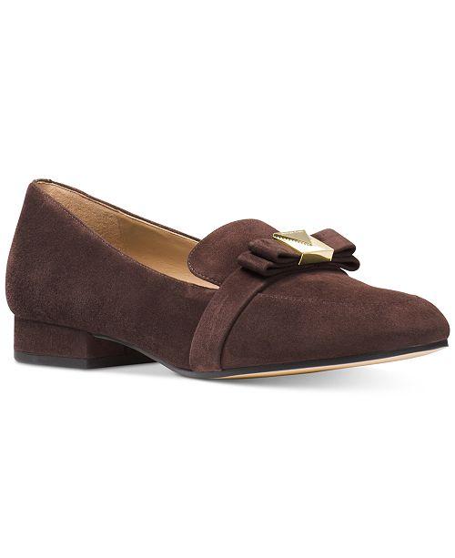 e8e898adf9bb9 Michael Kors Caroline Loafer Flats   Reviews - Flats - Shoes - Macy s