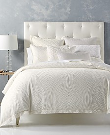 CLOSEOUT! Trousseau Cotton Full/Queen Duvet Cover, Created for Macy's