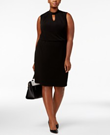 black dress plus size funeral - Shop for and Buy black dress plus ...