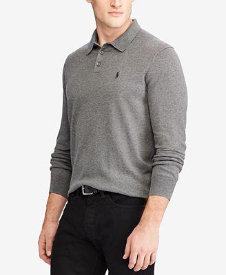 Polo Ralph Lauren Mens Polo Sweater Polos Men Macys