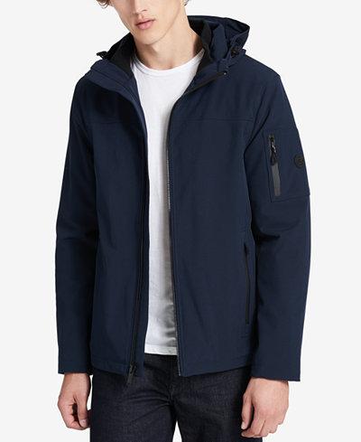 Calvin Klein Men's Fleece-Lined Stretch Jacket