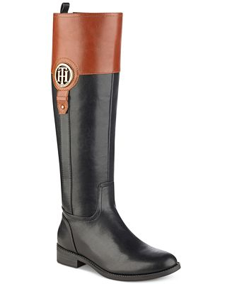 Tommy Hilfiger Ilia2 Riding Boots, Created for Macy's