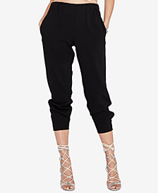 RACHEL Rachel Roy Cropped Pull-On Pants, Created for Macy's