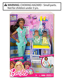 Mattel's Barbie® Baby Doctor Doll & Playset
