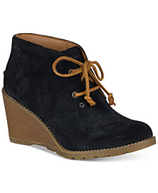 Sperry Women's Celeste Prow Wedge Ankle Booties